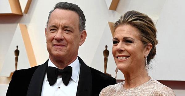 Celebridades Tom Hanks y Rita Wilson