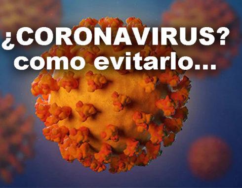 coronavirus como evitarlo