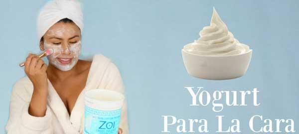Usa Yogur caducado para cuidar tu piel