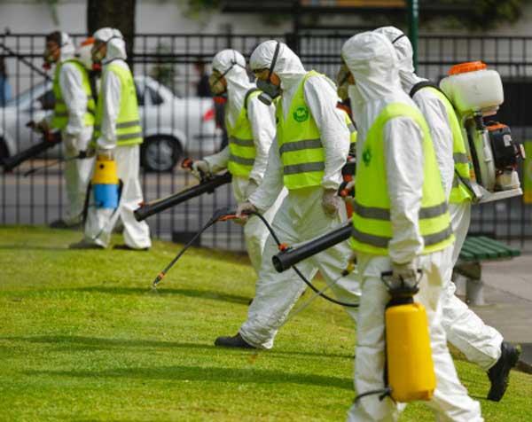 Países sudamericanos y la epidemia del dengue