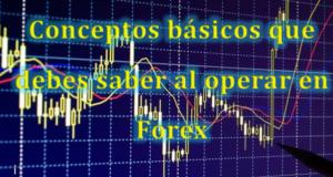 Conceptos básicos que debes saber al operar en Forex